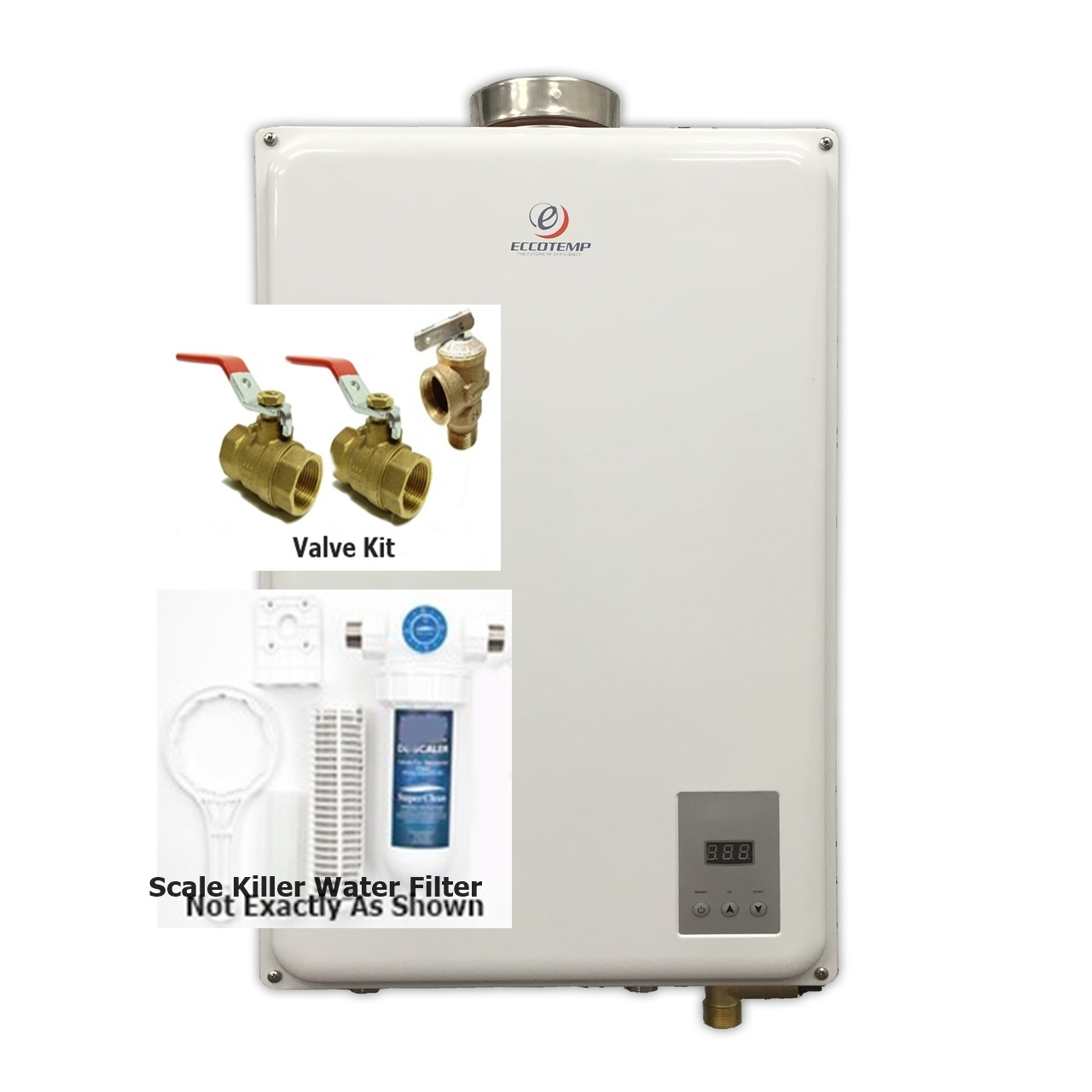 Eccotemp 45hi Indoor Install Natural Gas Tankless